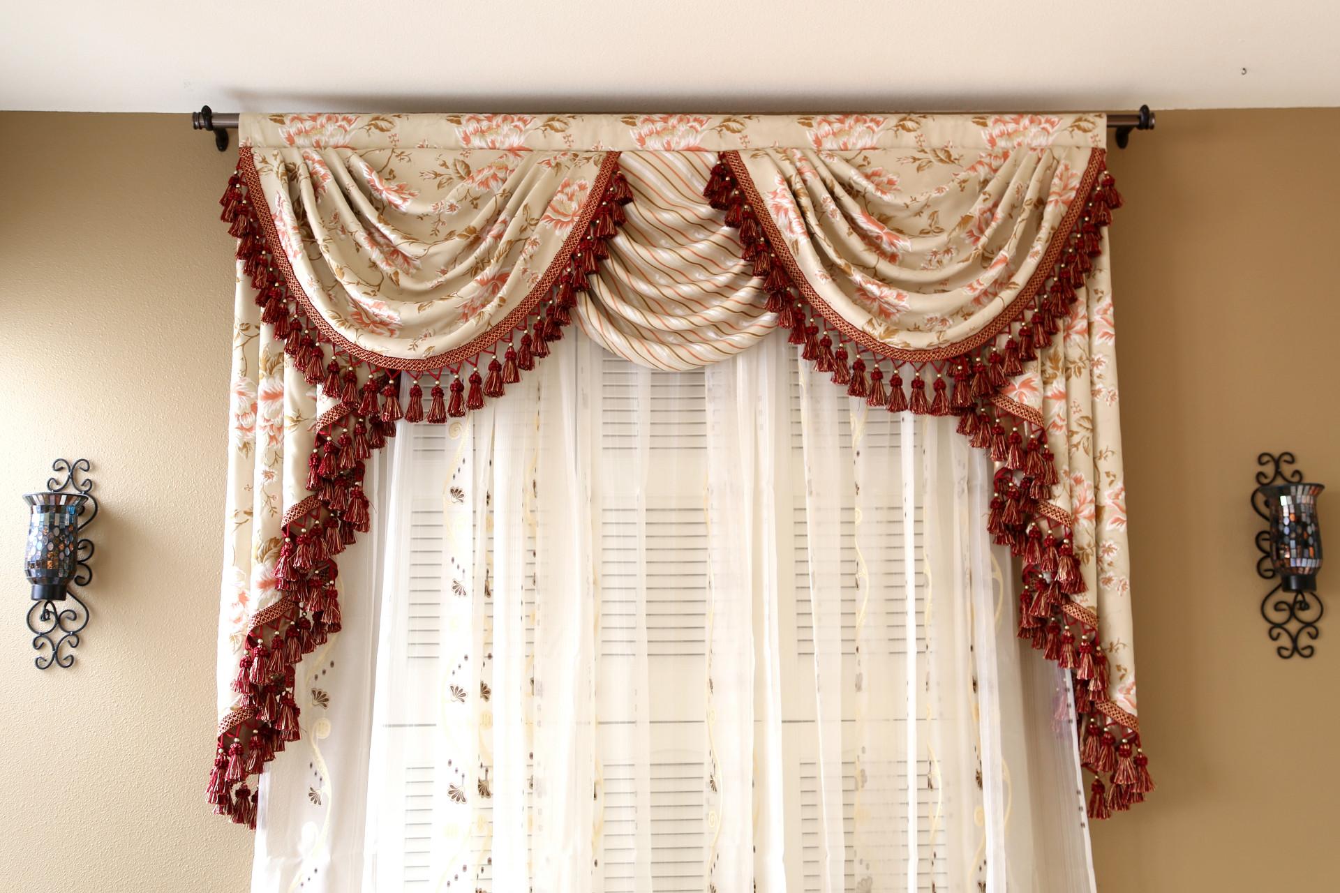 kitchen valance curtains