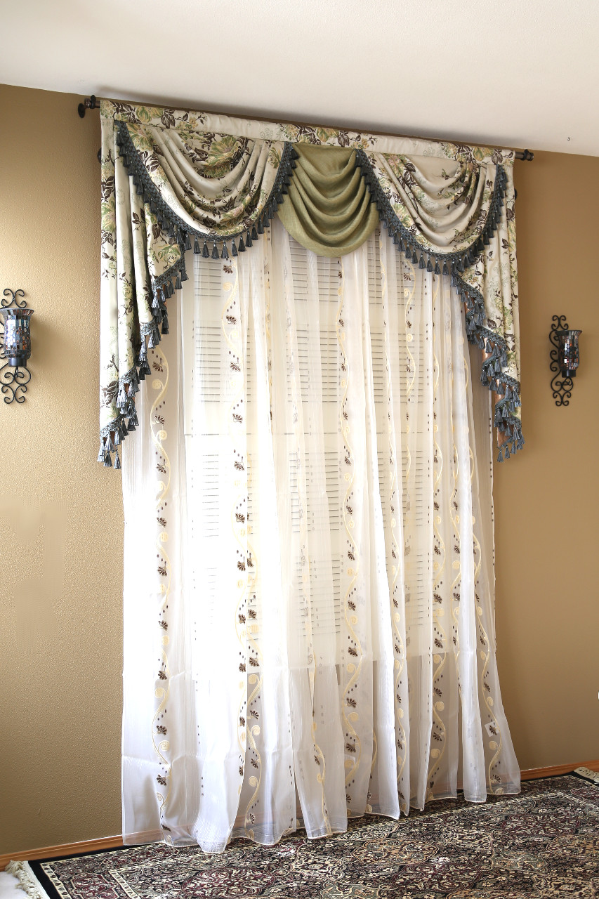 Valance Swag Curtains Drapes