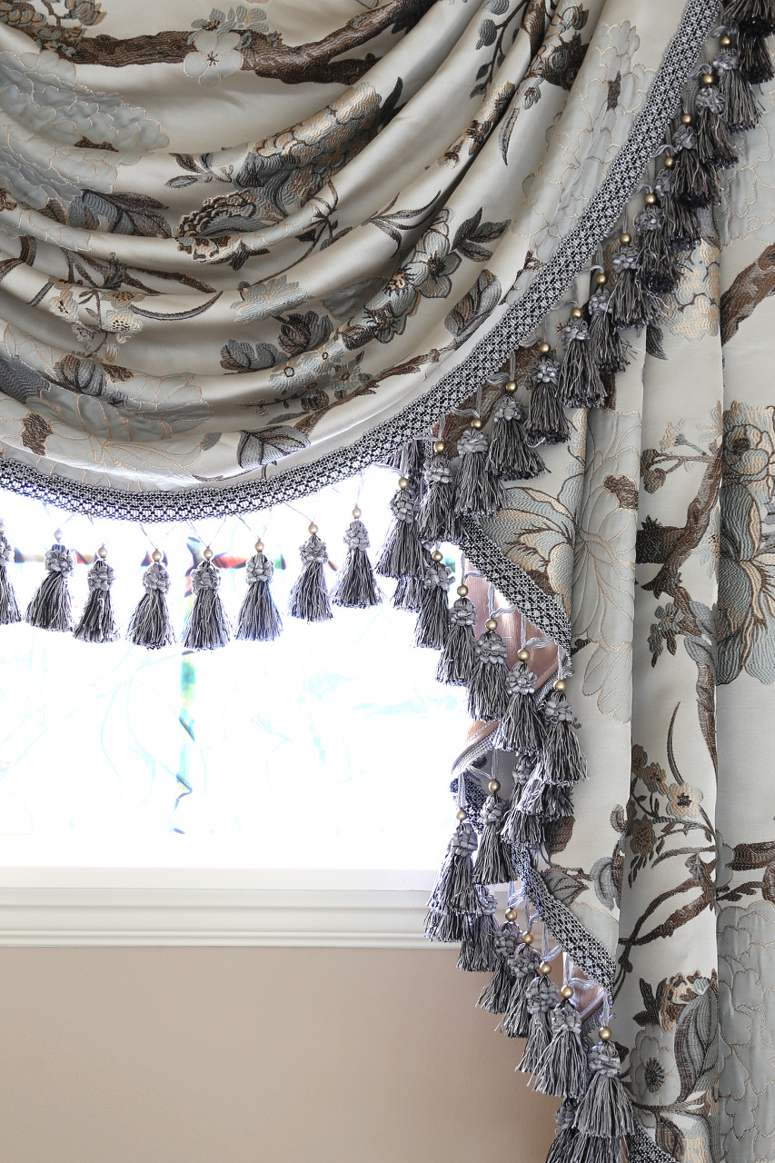 Enchanted Forest Swag Valance Curtains