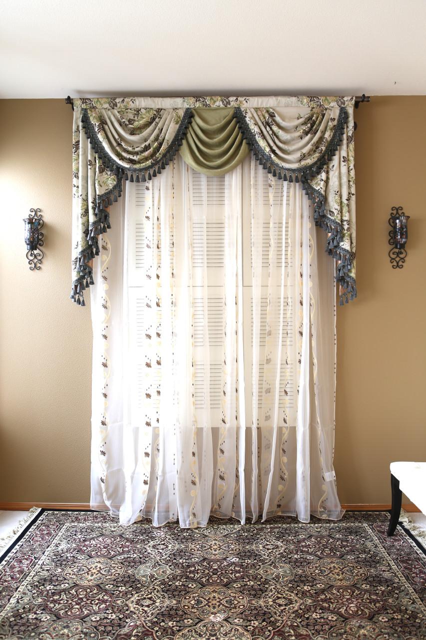 Appalachian Spring Swag Valance Curtains